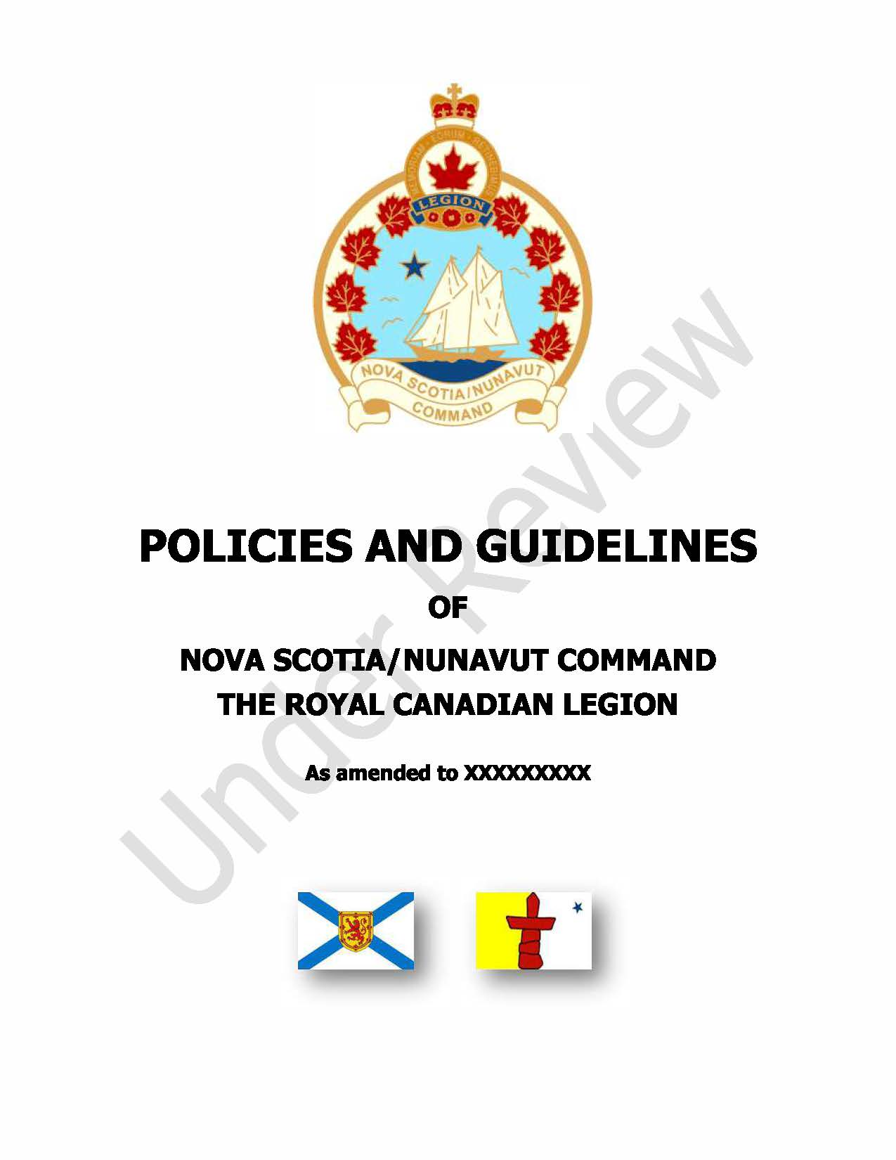 POLICY AND GUIDELINES BOOK Cover Page for Website
